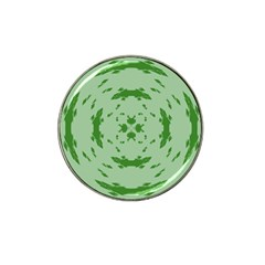 Green Hole Hat Clip Ball Marker (4 Pack)