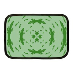 Green Hole Netbook Case (medium)  by Alisyart