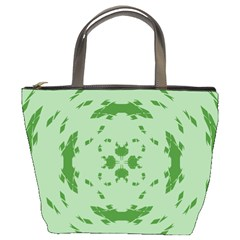 Green Hole Bucket Bags by Alisyart