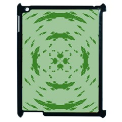 Green Hole Apple Ipad 2 Case (black) by Alisyart