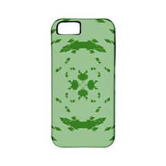 Green Hole Apple Iphone 5 Classic Hardshell Case (pc+silicone)