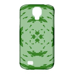 Green Hole Samsung Galaxy S4 Classic Hardshell Case (pc+silicone) by Alisyart