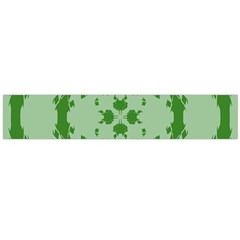 Green Hole Flano Scarf (large)