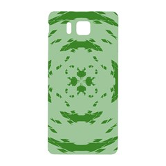 Green Hole Samsung Galaxy Alpha Hardshell Back Case
