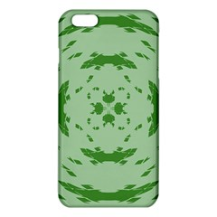 Green Hole Iphone 6 Plus/6s Plus Tpu Case by Alisyart