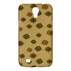 Compass Circle Brown Samsung Galaxy Mega 6 3  I9200 Hardshell Case by Alisyart