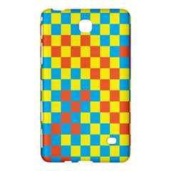 Optical Illusions Plaid Line Yellow Blue Red Flag Samsung Galaxy Tab 4 (8 ) Hardshell Case  by Alisyart