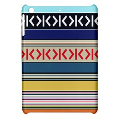 Original Code Rainbow Color Chevron Wave Line Apple Ipad Mini Hardshell Case by Alisyart