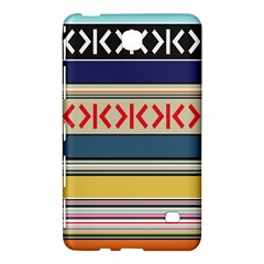 Original Code Rainbow Color Chevron Wave Line Samsung Galaxy Tab 4 (8 ) Hardshell Case  by Alisyart