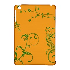 Nature Leaf Green Orange Apple Ipad Mini Hardshell Case (compatible With Smart Cover) by Alisyart