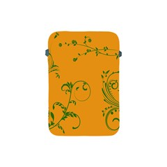 Nature Leaf Green Orange Apple Ipad Mini Protective Soft Cases by Alisyart