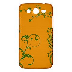 Nature Leaf Green Orange Samsung Galaxy Mega 5 8 I9152 Hardshell Case  by Alisyart