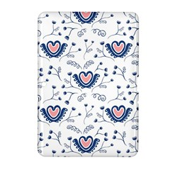 Heart Love Valentine Flower Floral Purple Samsung Galaxy Tab 2 (10 1 ) P5100 Hardshell Case  by Alisyart