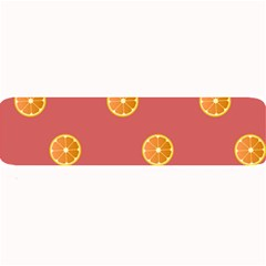 Oranges Lime Fruit Red Circle Large Bar Mats by Alisyart