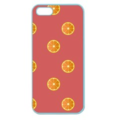 Oranges Lime Fruit Red Circle Apple Seamless Iphone 5 Case (color) by Alisyart