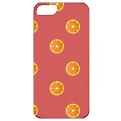 Oranges Lime Fruit Red Circle Apple Iphone 5 Classic Hardshell Case