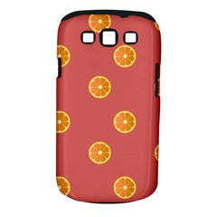 Oranges Lime Fruit Red Circle Samsung Galaxy S Iii Classic Hardshell Case (pc+silicone)
