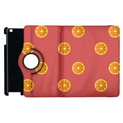 Oranges Lime Fruit Red Circle Apple Ipad 2 Flip 360 Case by Alisyart