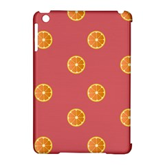 Oranges Lime Fruit Red Circle Apple Ipad Mini Hardshell Case (compatible With Smart Cover) by Alisyart