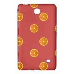 Oranges Lime Fruit Red Circle Samsung Galaxy Tab 4 (8 ) Hardshell Case  by Alisyart