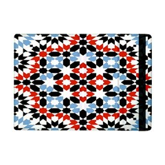 Oriental Star Plaid Triangle Red Black Blue White Ipad Mini 2 Flip Cases by Alisyart