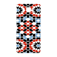 Oriental Star Plaid Triangle Red Black Blue White Samsung Galaxy Alpha Hardshell Back Case by Alisyart