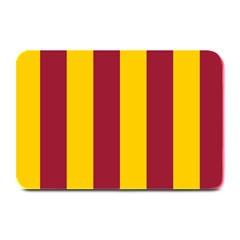 Red Yellow Flag Plate Mats