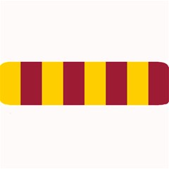 Red Yellow Flag Large Bar Mats