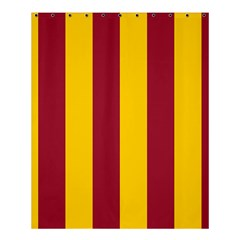 Red Yellow Flag Shower Curtain 60  X 72  (medium)  by Alisyart
