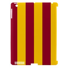 Red Yellow Flag Apple Ipad 3/4 Hardshell Case (compatible With Smart Cover)