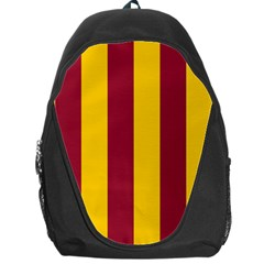 Red Yellow Flag Backpack Bag by Alisyart