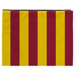 Red Yellow Flag Cosmetic Bag (XXXL)  Back
