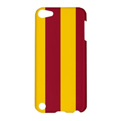 Red Yellow Flag Apple Ipod Touch 5 Hardshell Case by Alisyart