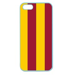 Red Yellow Flag Apple Seamless Iphone 5 Case (color)