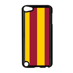 Red Yellow Flag Apple Ipod Touch 5 Case (black) by Alisyart