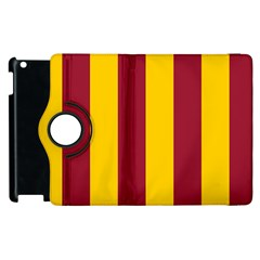 Red Yellow Flag Apple Ipad 3/4 Flip 360 Case by Alisyart