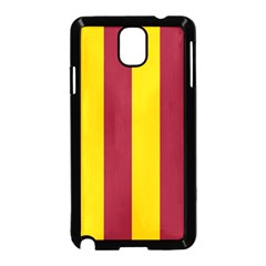 Red Yellow Flag Samsung Galaxy Note 3 Neo Hardshell Case (black)