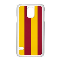 Red Yellow Flag Samsung Galaxy S5 Case (white)