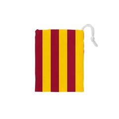 Red Yellow Flag Drawstring Pouches (xs)