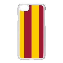 Red Yellow Flag Apple Iphone 7 Seamless Case (white)