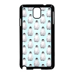 Penguin Animals Ice Snow Blue Cool Samsung Galaxy Note 3 Neo Hardshell Case (black)