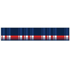 Plaid Red White Blue Flano Scarf (large) by Alisyart