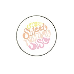 Sugar Sweet Rainbow Hat Clip Ball Marker (10 Pack)