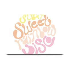 Sugar Sweet Rainbow Plate Mats by Alisyart
