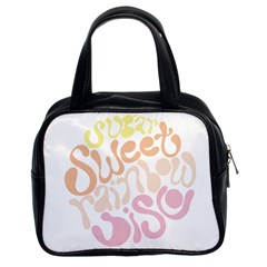 Sugar Sweet Rainbow Classic Handbags (2 Sides) by Alisyart
