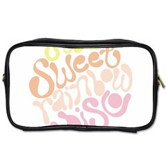 Sugar Sweet Rainbow Toiletries Bags