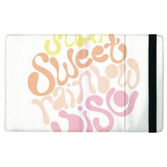 Sugar Sweet Rainbow Apple Ipad 3/4 Flip Case by Alisyart