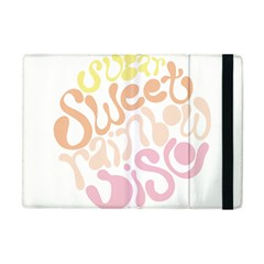 Sugar Sweet Rainbow Apple Ipad Mini Flip Case by Alisyart