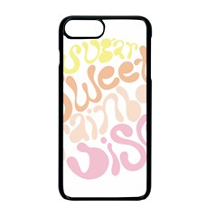 Sugar Sweet Rainbow Apple Iphone 7 Plus Seamless Case (black) by Alisyart