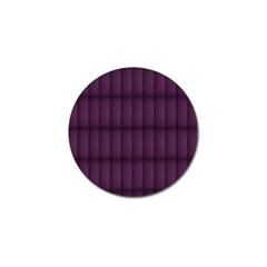 Plaid Purple Golf Ball Marker (4 Pack) by Alisyart